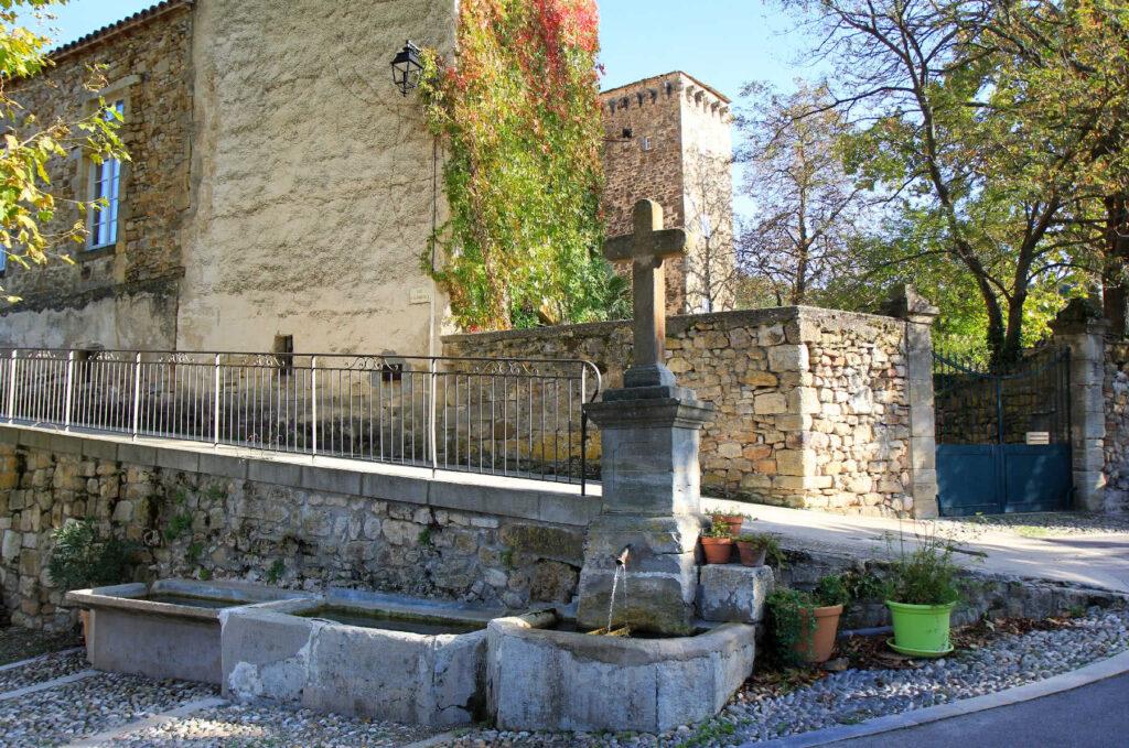 Fontaine de la place de l'orme